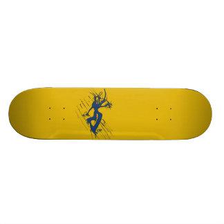 """on the way"" - skateboard (20.2 cm) - cnp's Design"