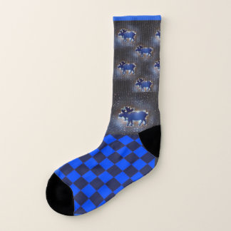 Once in a Blue Moose in Space  - Sock 1