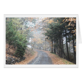 Once It Was Fall... Greeting Card
