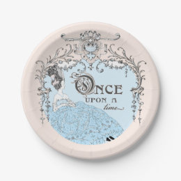 Once Upon a Time Cinderella Paper Plate  sc 1 st  Zazzle NZ & Once Upon A Time Plates | Zazzle.co.nz