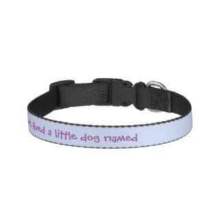 Once Upon a Time Dog Collar