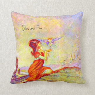 Once Upon a Time & Happily Ever After Quotes Throw Pillow