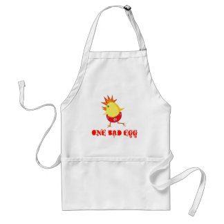One Bad Egg Punk Rock Easter Chick Apron