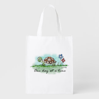 One Day at a Time Reusable Grocery Bag