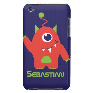 One eyed alien kids name ipod case iPod Case-Mate case