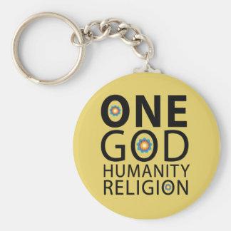 One God Key Ring