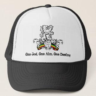 One God, One Aim, One Destiny Trucker Hat