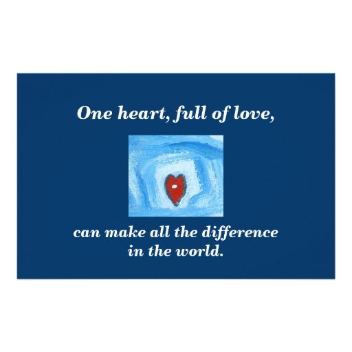 ONE HEART / HEALED CUSTOM FLYER