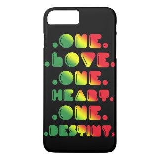 ONE LOVE, ONE HEART, ONE DESTINY. iPhone 8 PLUS/7 PLUS CASE