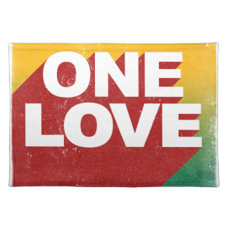 One Love Poster Placemat