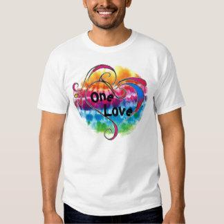 One Love Tie Dye Tee Shirts