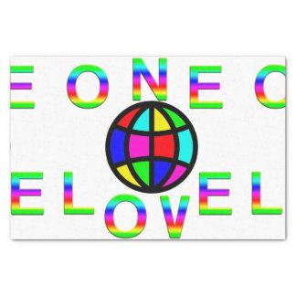 One Love Tissue Paper