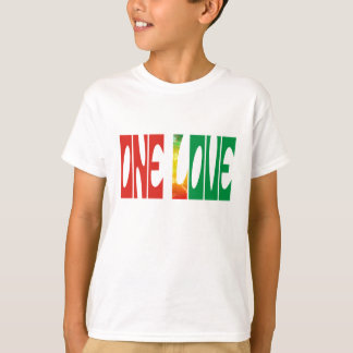 One Love Unisex Kids Tee