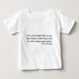 One Nation Under God. Baby T-Shirt