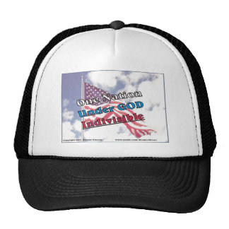One Nation under GOD Indivisible Cap