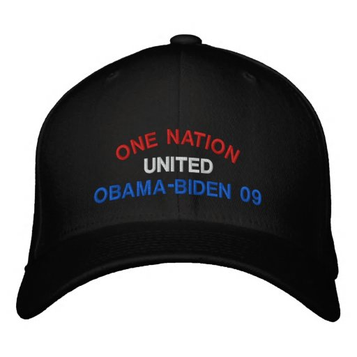 One Nation United Embroidered Hat
