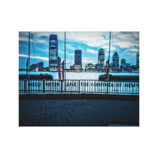 One need never leave ... New York canvas Canvas Print