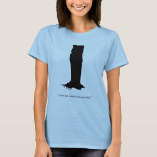 One Ninth Above 'Waterfall' women's t-shirt. T-Shirt