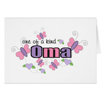 One Of A Kind Oma Card