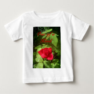 One of a Kind Red Rose Baby T-Shirt
