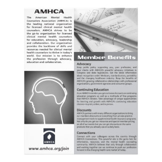 One Page Black and White Membership Flyer
