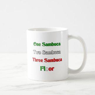 One Sambuca Basic White Mug