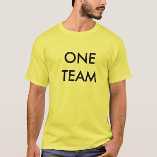 ONE TEAM, ONE GOAL T-Shirt