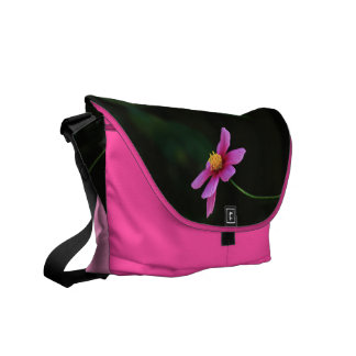 One touch of Flower: Cosmos Messenger Bag