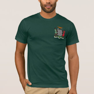 """One Zambia One Nation"" Zambia Coat of Arms Hoodie"