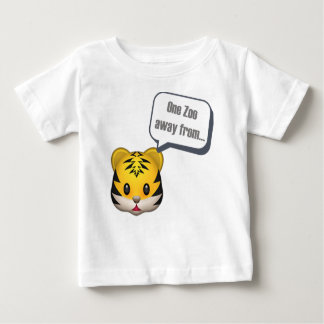 one zoo away from - Emoji Baby T-Shirt