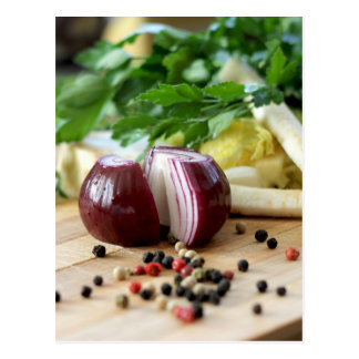 Onion Kitchen Postcard