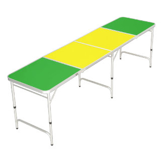 Only Color Background - yellow green + your ideas Pong Table