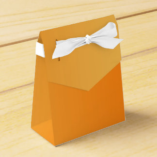 ONLY COLOR gradients - orange Favour Box