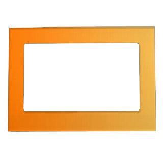 ONLY COLOR gradients - orange Magnetic Frames