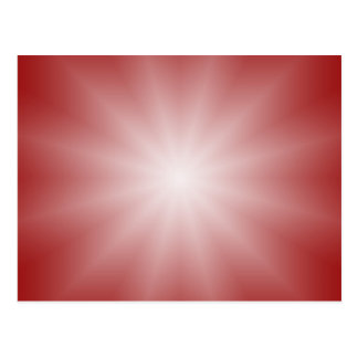ONLY COLOR gradients - red love star Postcard
