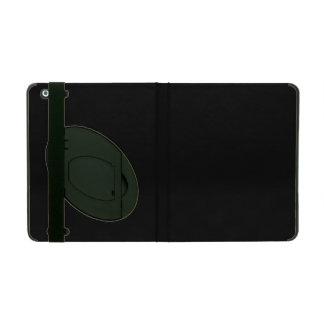 Only cool basic black solid color OSCB18 iPad Case