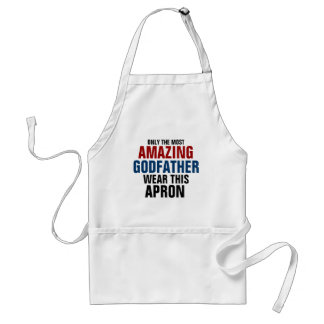 Only the most amazing godfather wear this apron