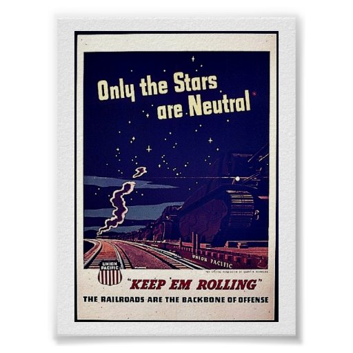 Only The Stars Are Neutral Posters