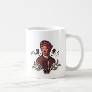 Ontic Cafe Gifts with David Hume Coat of Arms Coffee Mug