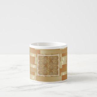 ONYX Marble Balls - Golden Wheat Jewels Espresso Mug