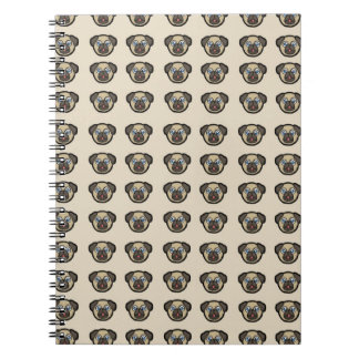 Oodles of Pugs Spiral Notebook