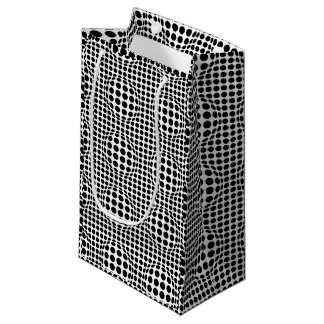 Op Art Black and White Small Gift Bag