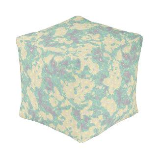Opal Camouflage Pouf