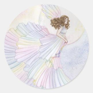 Opal Classic Round Sticker