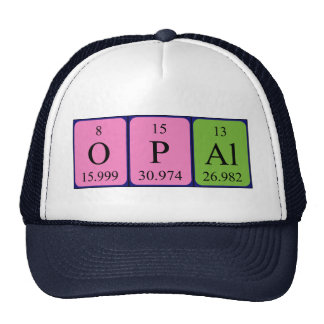 Opal periodic table name hat