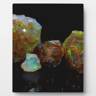 Opals Plaque