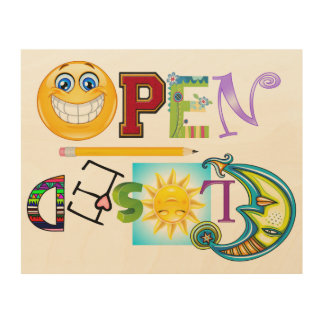 Open / Closed Sign - SRF