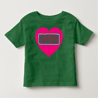 open heart toddler shirt