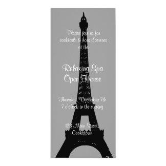 Open House Smokey Gray Evening in Paris 10 Cm X 24 Cm Invitation Card