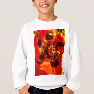 open poppy two sweatshirt
